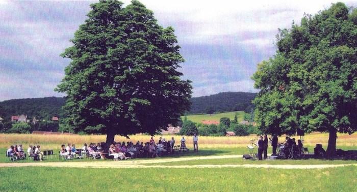 Concert en plein air pour les Amis de Durot 13 juillet 2009 Idylle10