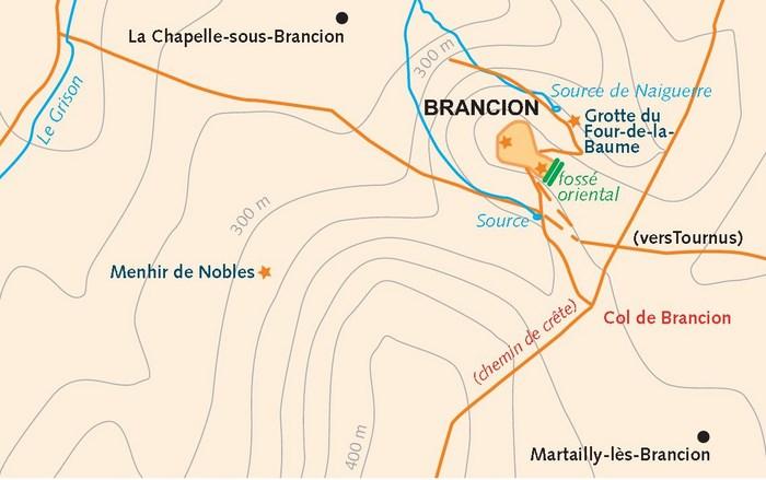 La chapelle sous Brancion, un peu de culture... Menhir13