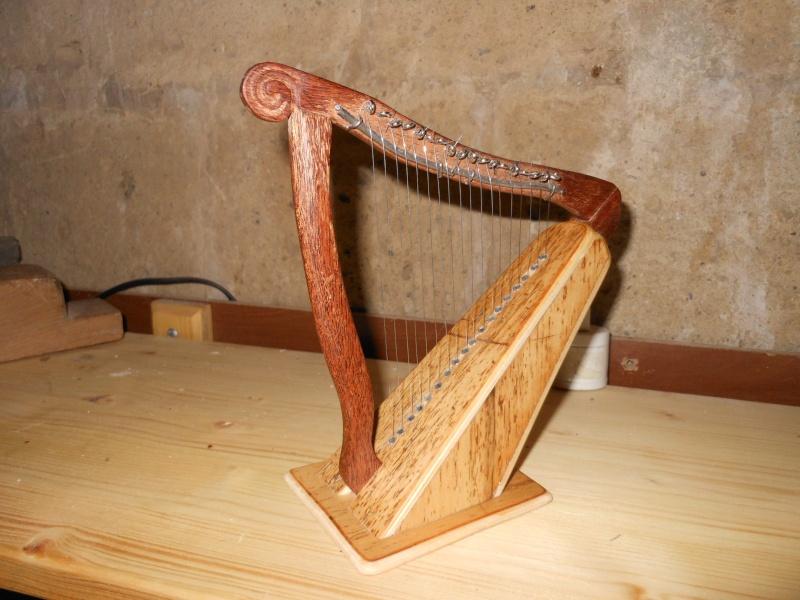 Arpa celtica tascabile 1610