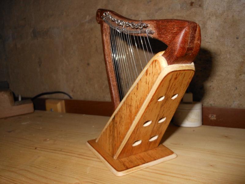 Arpa celtica tascabile 1710