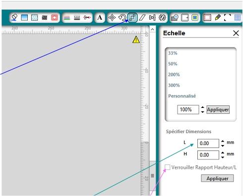 Fichier DXF dans Silhouette Studio Image113