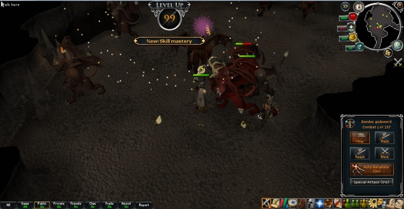 First 99 on server+Loot of 800k exp on greater demons 2014-010