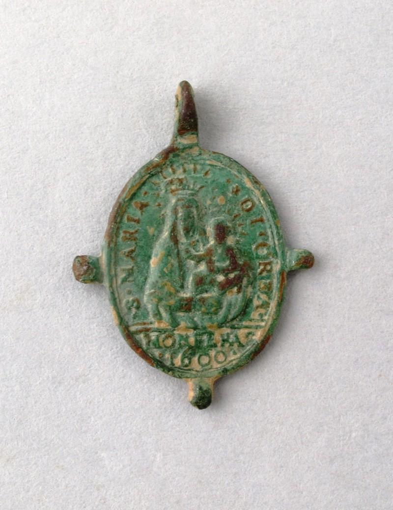 Médaille Marie & St-Charles-Borromée - XVIIème Recto10