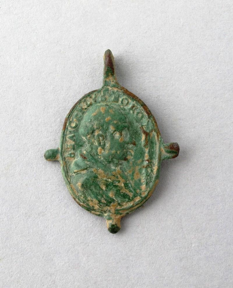 Médaille Marie & St-Charles-Borromée - XVIIème Verso10