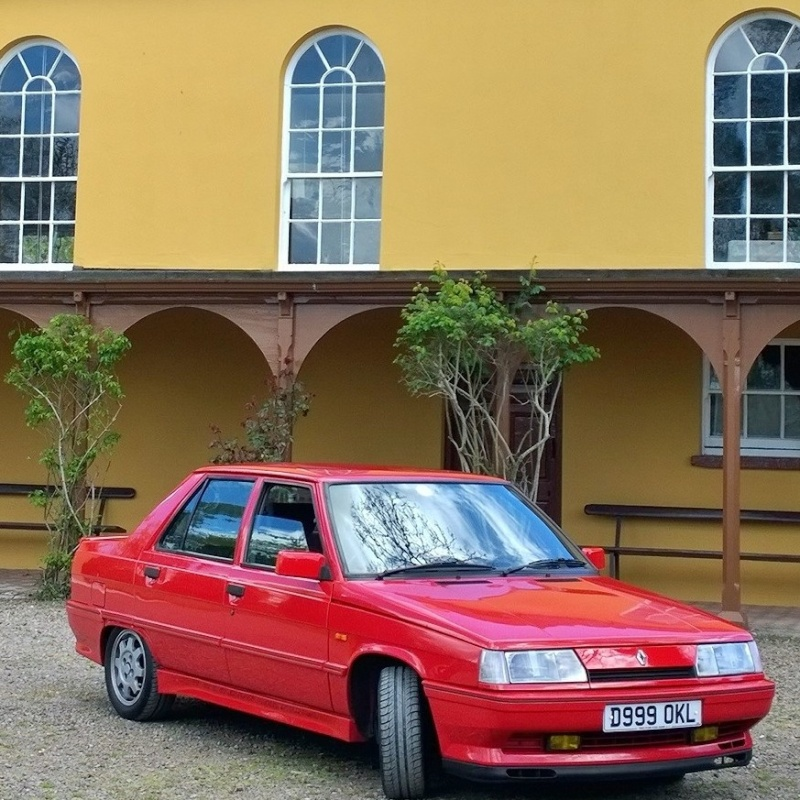 Our new Renault 9 Turbo phase 2!!!! Instag24