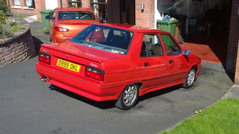 Our new Renault 9 Turbo phase 2!!!! Wp_20126