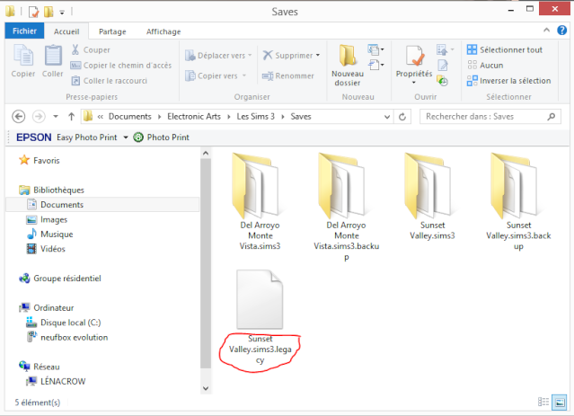 [Fiche] MAJ du jeu de base Les Sims3 par liens externes et Résolutions de 2 problèmes lors de la réimportation des sauvegardes Diffar10