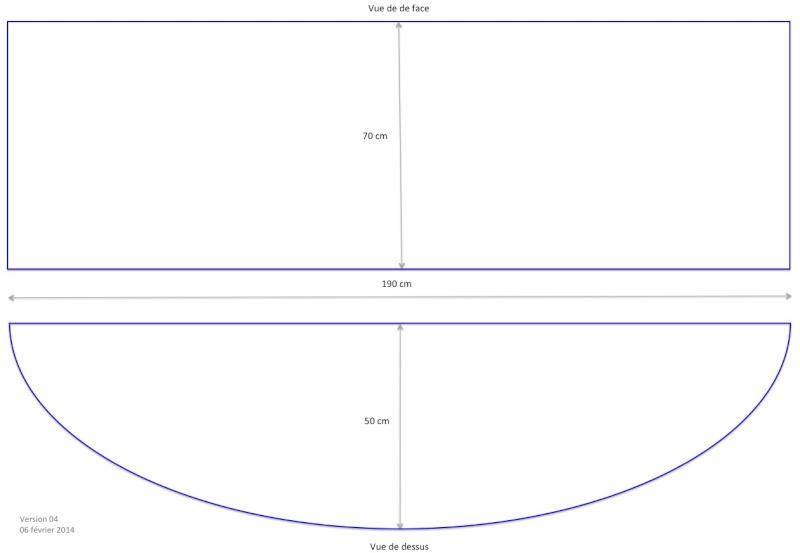 Jaubert 357 L, étude de faisabilité. Dimens14