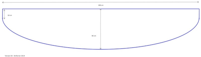 Jaubert 357 L, étude de faisabilité. Dimens15