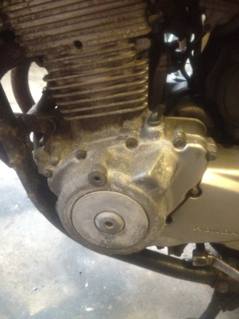 Fixing up My CB500S on a Budget Cb500s28