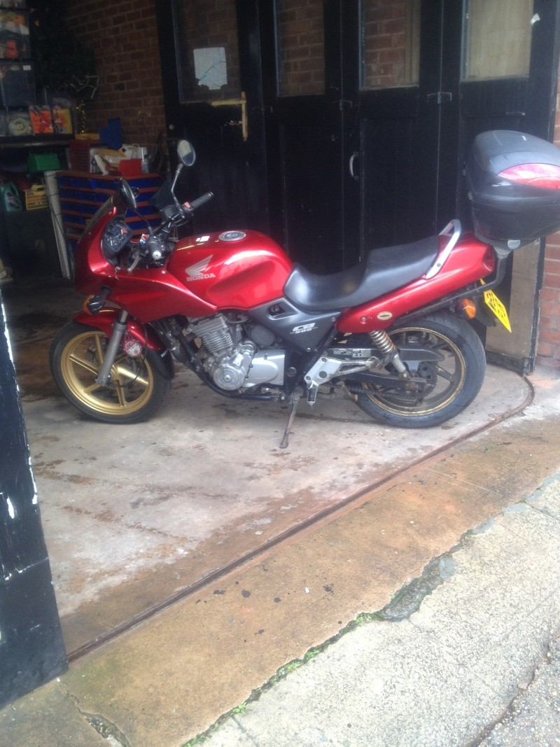Fixing up My CB500S on a Budget Mar_2010