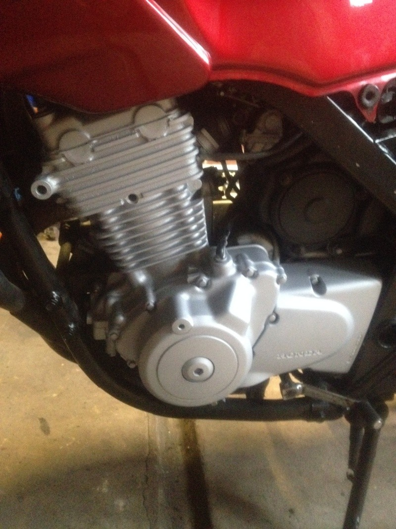 Fixing up My CB500S on a Budget Mar_6_10