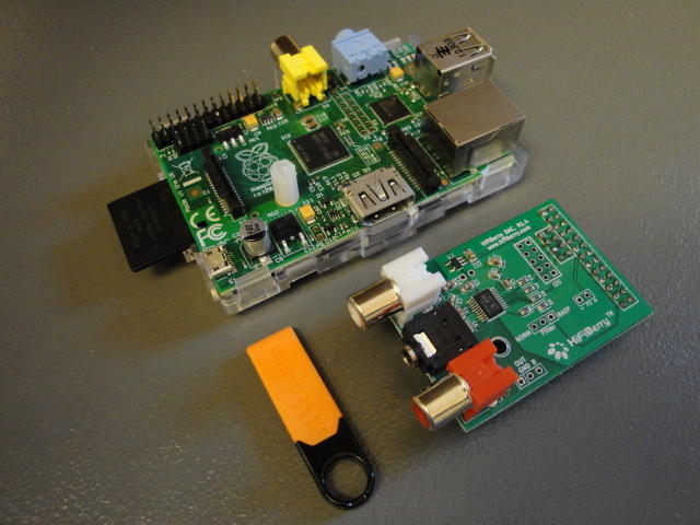Interface USB vers I2S et intégration micro ordi comme serveur de musique... C'est totalement génial!!! Raspbe12