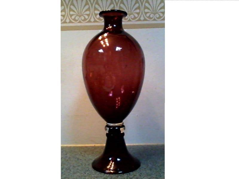 Beautiful Amethyst Glass Vase Amethy10