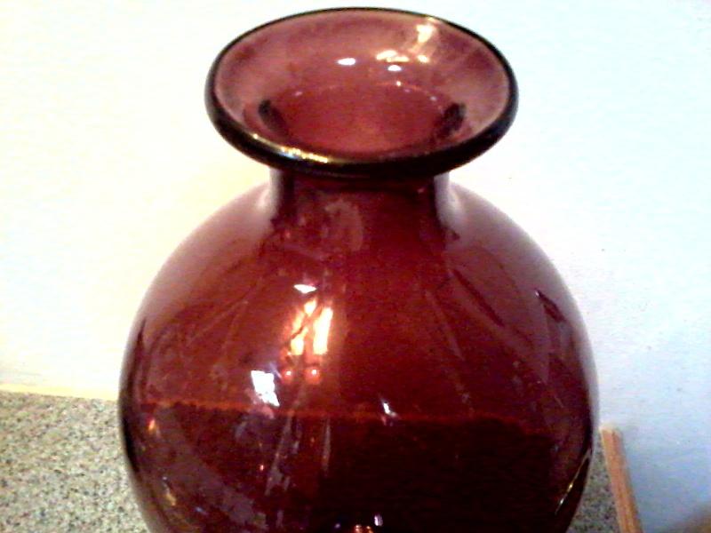 Beautiful Amethyst Glass Vase Amethy11