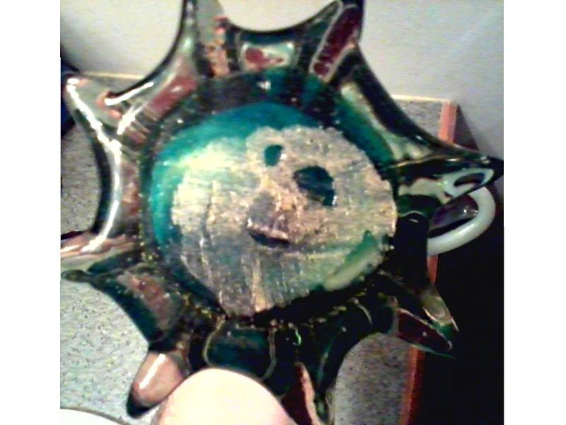 Large Art Glass Fish Art_gl13