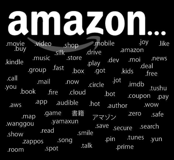 Amazon Just Spent Millions Applying For Domain Names. Why? Amazon10