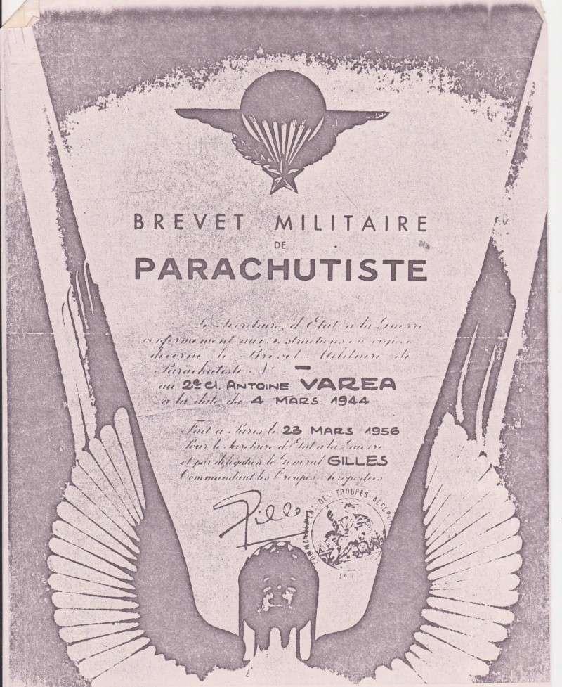 VAREA ANTOINE, bataillon de choc 43-45 00112