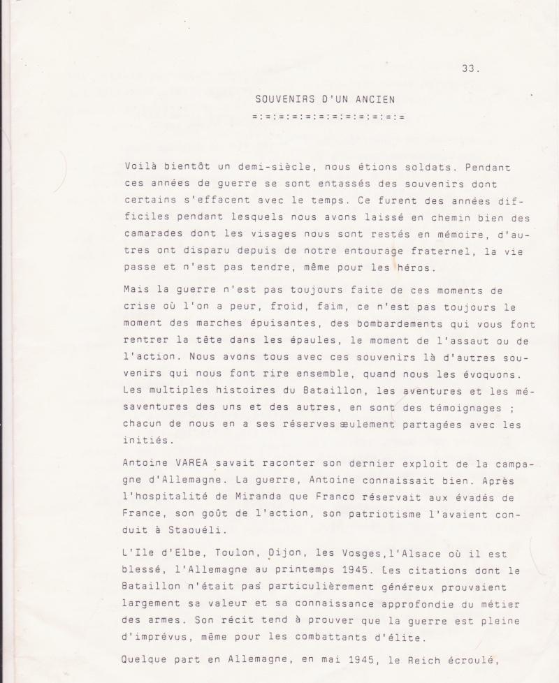 VAREA ANTOINE, bataillon de choc 43-45 - Page 7 Articl10
