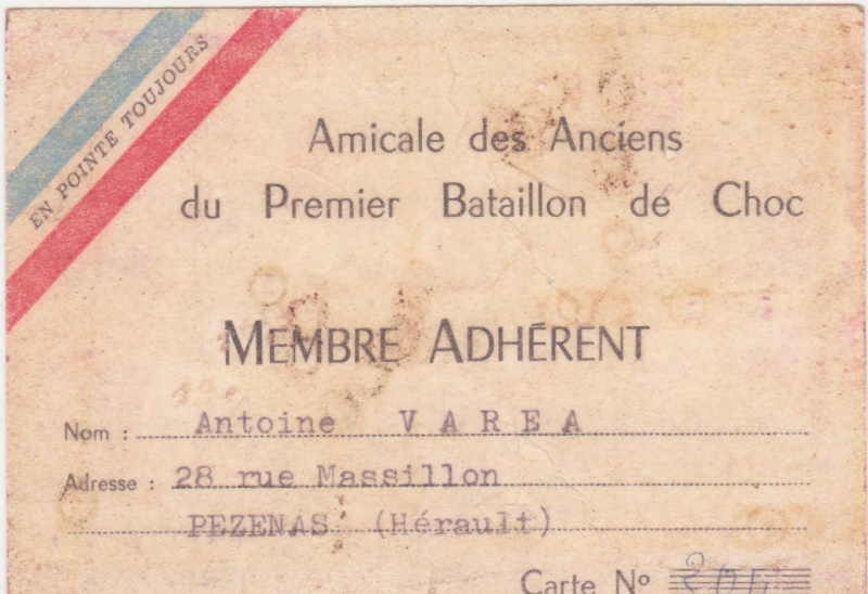 VAREA ANTOINE, bataillon de choc 43-45 Carte_10