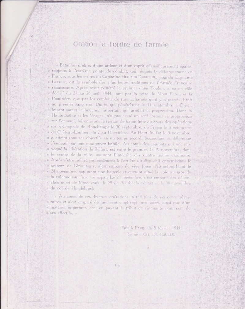 VAREA ANTOINE, bataillon de choc 43-45 - Page 6 Ordre_11