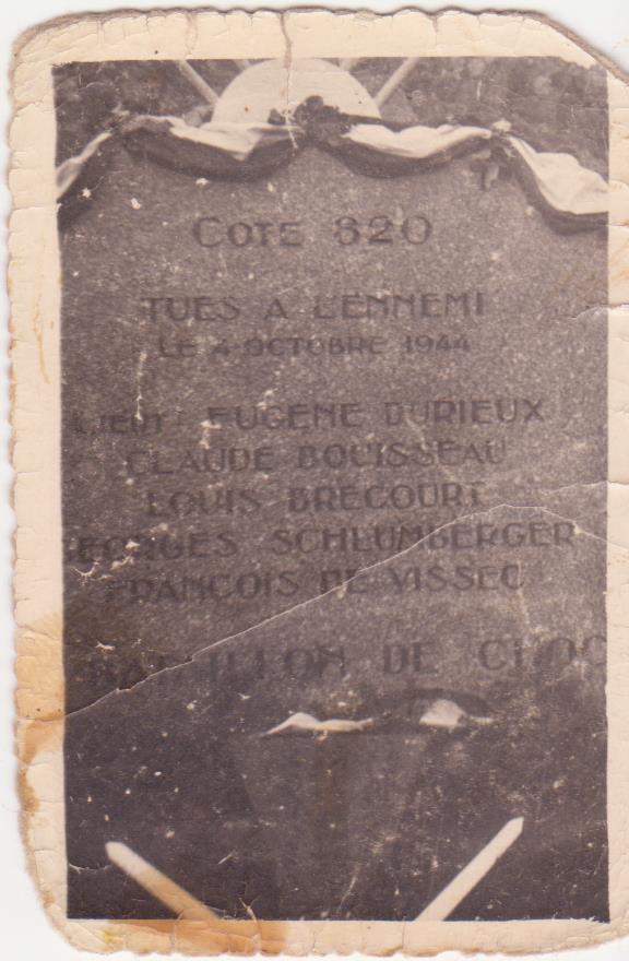 VAREA ANTOINE, bataillon de choc 43-45 - Page 4 Servan15