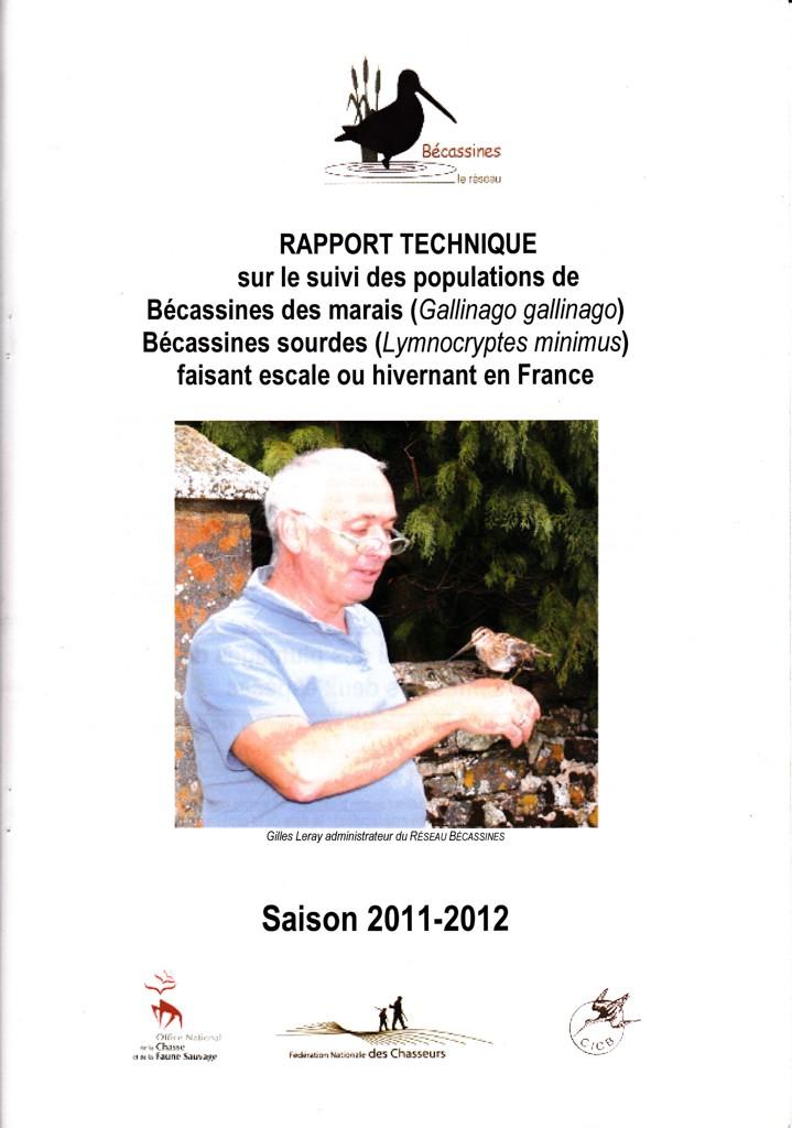 Réseau Bécassines France Bilan Saison 2011-2012 P113