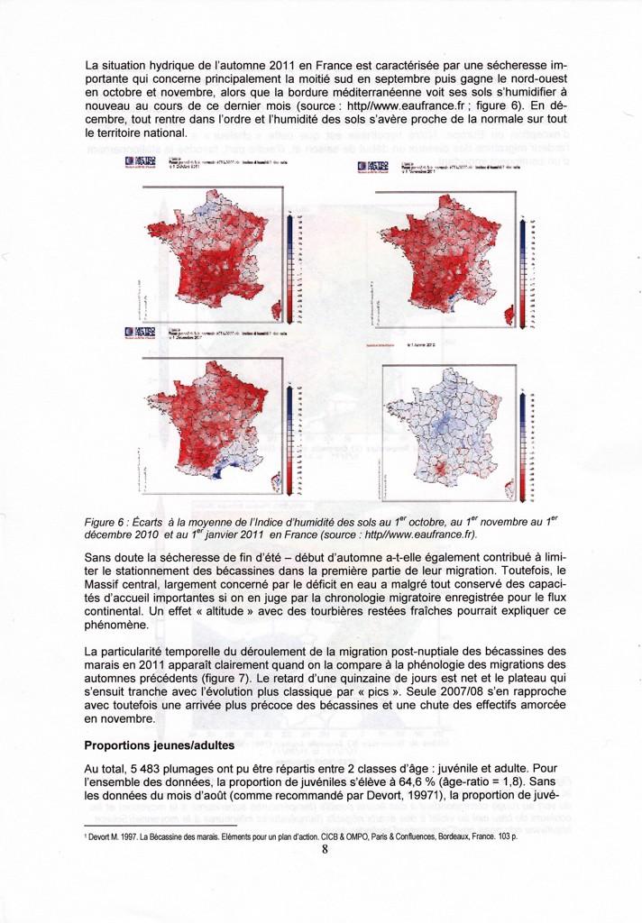 Réseau Bécassines France Bilan Saison 2011-2012 P810