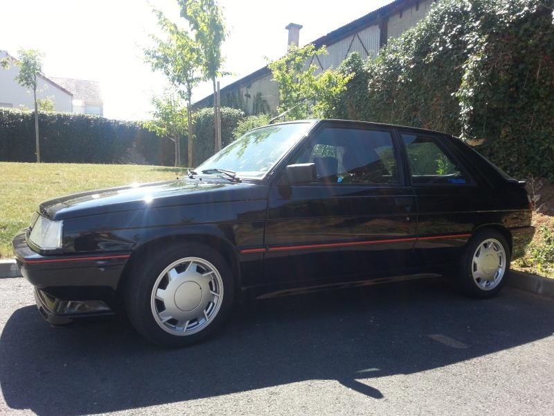 Ma R11 turbo 3 portes noire de 87 (injection) 20130813