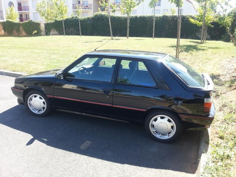 Ma R11 turbo 3 portes noire de 87 (injection) 20130814