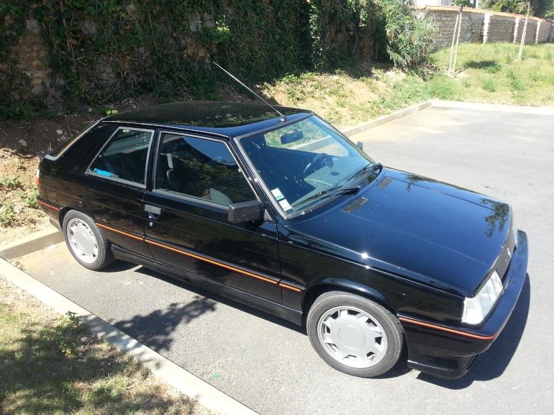 Ma R11 turbo 3 portes noire de 87 (injection) 20130815