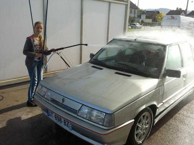 Ma R11 turbo 5 portes grise 620 de 1988 33210