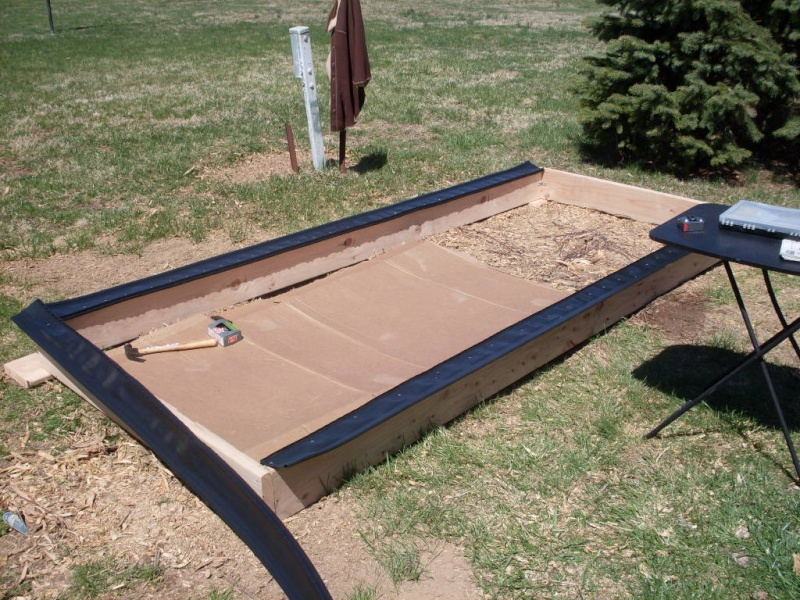 (Phase 1) Construction of 10' x 4' Bed Phase_17