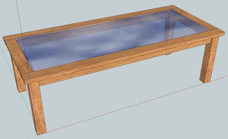 avis sur la fabrication d'une table de salle à manger en bois et verre 1_peti10