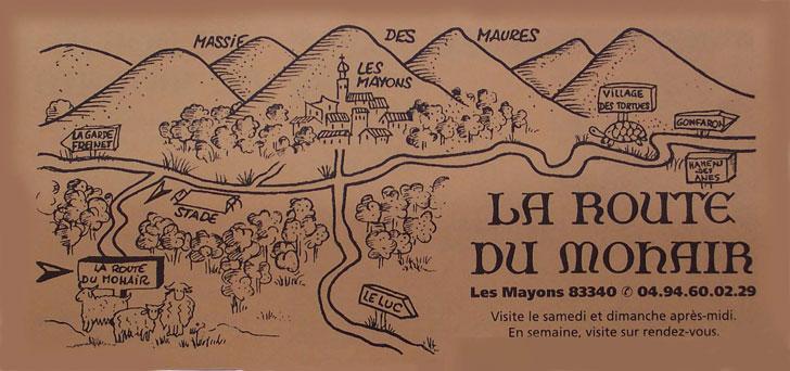 LES CHEVRES MOHAIR Route-10