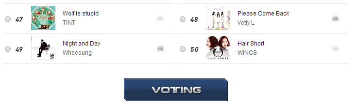 [INFO]Voting for M COUNTDOWN on MWAVE Mwave310