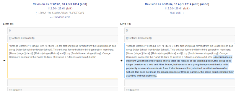 [DISCUSSION] Orange Caramel is no longer a sub unit of After School Wikipe10