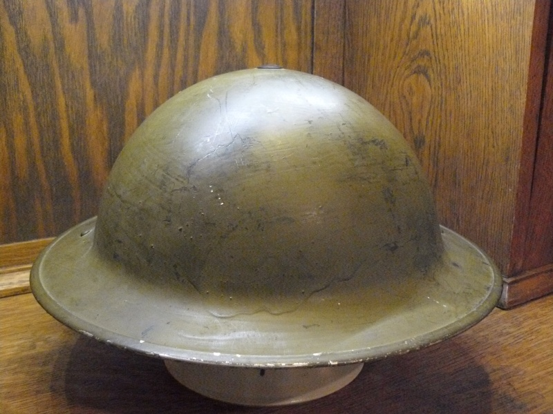 Lets see your favorite worn Canadian/Commonwealth helmets with nice aged patina Pictur83