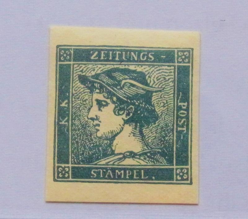 DIE ZEITUNGSMARKEN AUSGABE 1851 001-bl10