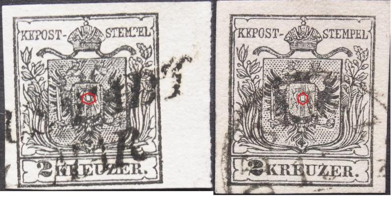 Die erste Österreichische Ausgabe 1850 - Seite 2 2typen10