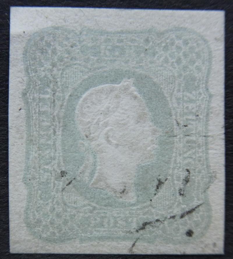 DIE ZEITUNGSMARKEN AUSGABE DES JAHRES 1861 Ank-2310