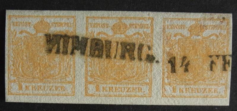 Die erste Österreichische Ausgabe 1850 Ank1-h11