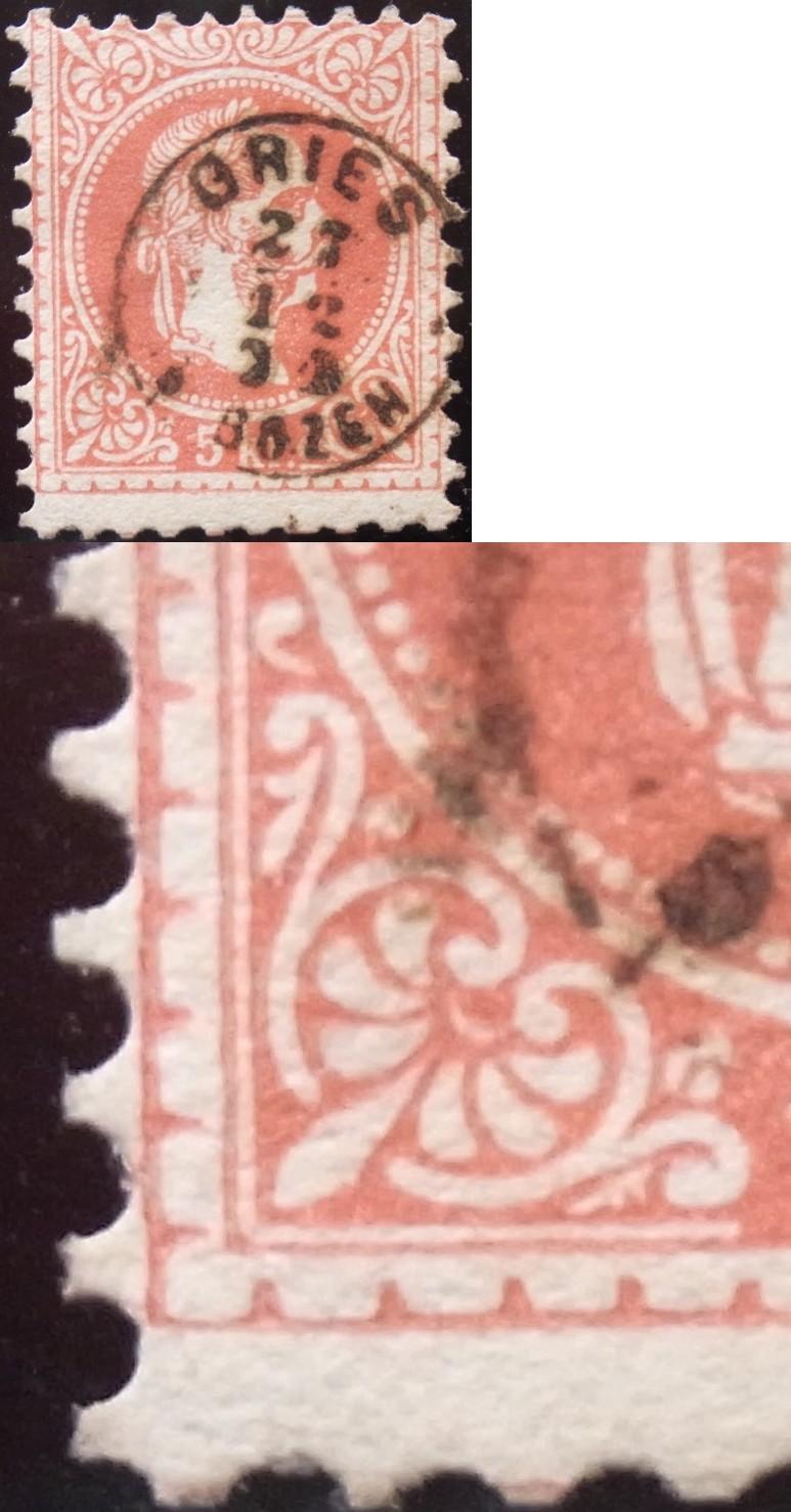 Freimarken-Ausgabe 1867 : Kopfbildnis Kaiser Franz Joseph I - Seite 4 Ank37-11