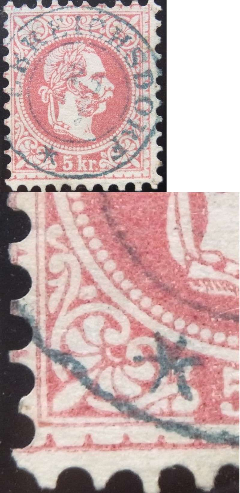 Freimarken-Ausgabe 1867 : Kopfbildnis Kaiser Franz Joseph I - Seite 4 Ank37-12