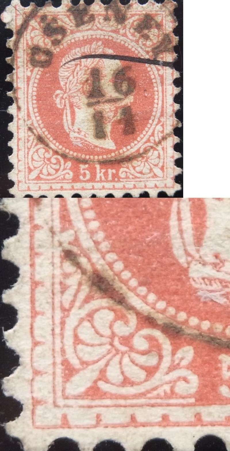 Freimarken-Ausgabe 1867 : Kopfbildnis Kaiser Franz Joseph I - Seite 4 Ank37-16
