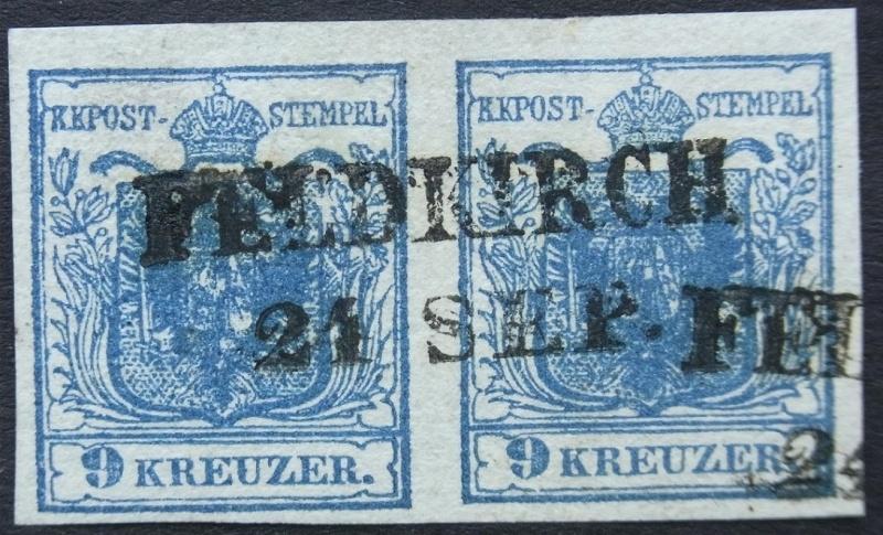 Die erste Österreichische Ausgabe 1850 Ank5-h11