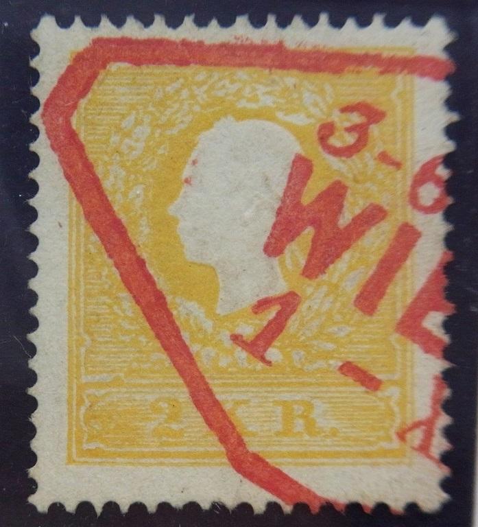 Die Freimarkenausgabe 1858 Type I und II Ank_1017