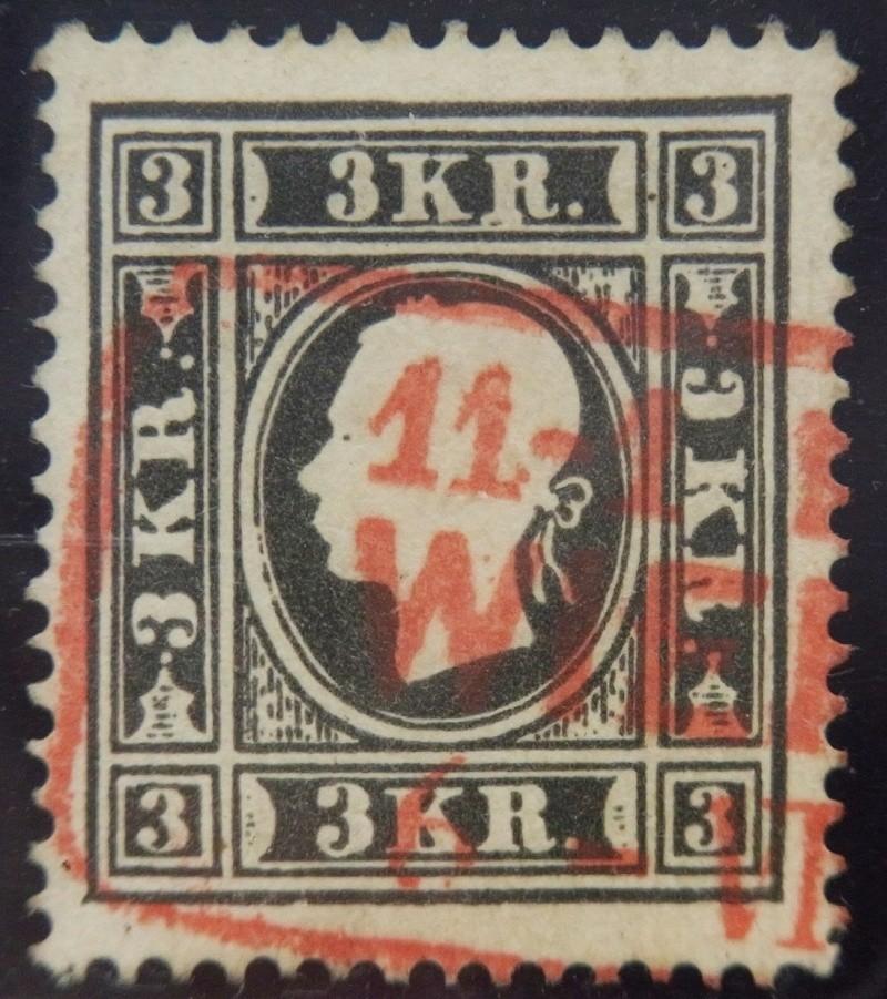 Die Freimarkenausgabe 1858 Type I und II Ank_1110