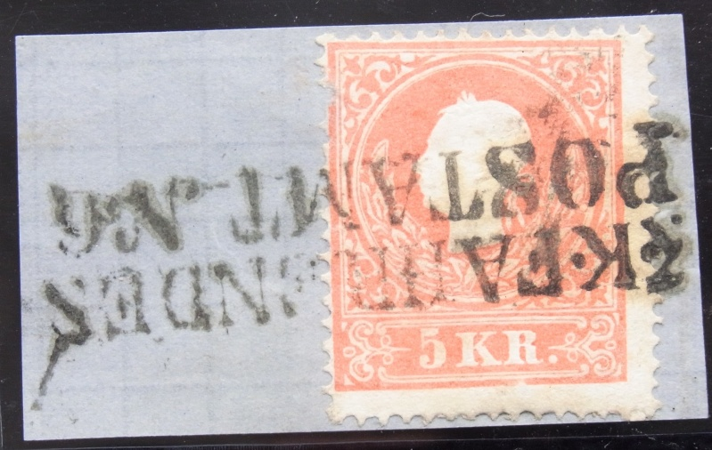 Die Freimarkenausgabe 1858 Type I und II Ank_1311