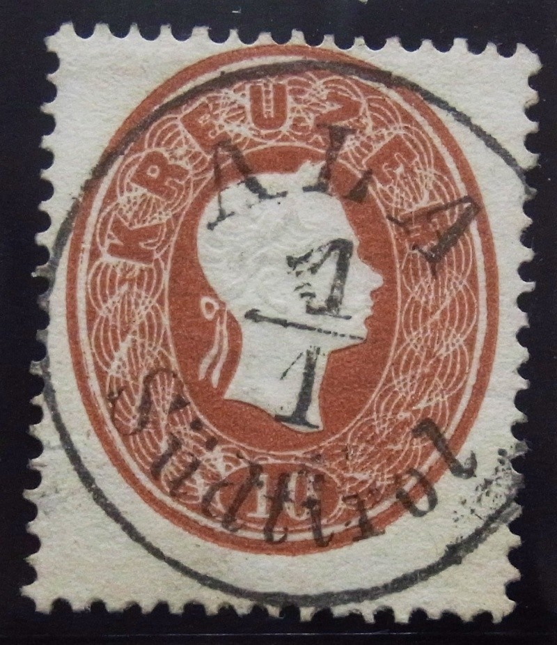 Die Freimarkenausgabe 1861 Ank_2110